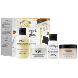 Philosophy Smooth & Glow Facial Kit 4 Piece Gift